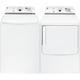 G.E. White High Efficiency Washer/Dryer Pair - GTWN7450PR - IN STOCK