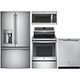 G.E. Profile 4 Pc. Stainless French Door Kitchen Package - GEPROFDKIT2 - IN STOCK