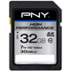 PNY High Performance 32GB Class 10 SDHC Flash Card - P-SDH32G10H-GE / PSDH32G10HGE - IN STOCK