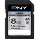 PNY High Performance 8GB Class 10 SDHC Flash Card - P-SDHC8G10-10-GE / PSDHC8G1010G - IN STOCK