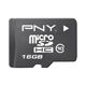 PNY 16GB Micro SDHC Card Class 10 - P-SDU16G10-GE / PSDU16G10GE - IN STOCK