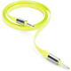 Griffin Fluoro Flat AUX Cable - Citron - GC37379 - IN STOCK