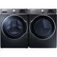 Samsung Onyx Front Load Washer/Dryer Pair - WF56H9100GPR - IN STOCK