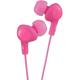 JVC Gumy Plus Inner Ear Headphones (Pink) - HAFX5P - IN STOCK