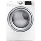 Samsung DV42H5200EW Electric 7.5 Cu. Ft. White Front Load Steam Dryer - DV42H5200EW - IN STOCK