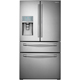 Samsung RF30HBEDBSR 29.5 u. Ft. Stainless 4-Door Food ShowCase French Door Refrigerator - RF30HBEDBSR - IN STOCK