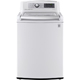 LG WT5680HWA 5.2 Cu. Ft. White Steam High Efficiency Top Load Washer - WT5680HWA - IN STOCK