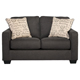 Ashley Signature Design 1660135 Alenya Charcoal Vintage Casual Loveseat - 1660135 / 1660135 - IN STOCK