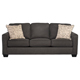 Ashley Signature Design 1660138 Alenya Charcoal Vintage Casual Sofa - 1660138 / 1660138 - IN STOCK
