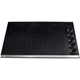 Frigidaire Gallery FGEC3067MB 30 in. Black 5 Burner Electric Cooktop - FGEC3067MB - IN STOCK