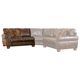 Ashley Signature Design Walcot DuraBlend Antique LAF Loveseat - 2130055 - IN STOCK