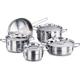 Korkmaz Alfa 9pcs. Cookware Set - A1660ALFA - IN STOCK