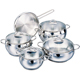 Korkmaz Tombik 9pcs. Cookware Set - A1800TOMBIK - IN STOCK
