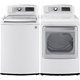 LG White High Efficiency Washer/Dryer Pair - WT5480PR - IN STOCK