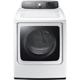 Samsung DV56H9000EW Electric 9.5 Cu. Ft. White High Efficiency Top Load Steam Dryer - DV56H9000EW - IN STOCK