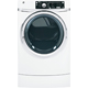 G.E. GFDR270EHWW Electric 8.1 Cu. Ft. White Front Load Steam Dryer - GFDR270EHWW - IN STOCK