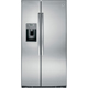 G.E. GSE25HSHSS 25.4 Cu. Ft. Stainless Side-by-side Refrigerator - GSE25HSHSS - IN STOCK
