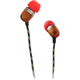 Marley Smile Jamaica In-Ear Headphone with 1-Button Mic - Fire - EM-JE041-FI / EMJE041FI - IN STOCK