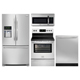 Frigidaire Gallery 4 Pc. Stainless French Door Kitchen Package - FRIGGALSTFD - IN STOCK