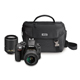 Nikon D3300 DSLR Bundle w/ 18-55mm DX VR II & 55-200mm DX VR II Zoom Lenses and Case - 13473 / D3300BUND - IN STOCK
