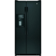 G.E. GSS20ETHBB 20 Cu. Ft.  32 in. Width Black Side-by-Side Refrigerator - GSS20ETHBB - IN STOCK