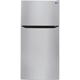 LG LTCS24223S 23.8 Cu. Ft. 33� Wide Stainless Top Freezer Refrigerator - LTCS24223S - IN STOCK