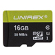 Unirex 16GB microSDHC Card - UMS165MUHS1 - IN STOCK