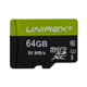 Unirex 64GB microSDHC Card - UMS645MUHS1 - IN STOCK