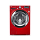 LG WM3370HRA 4.3 cu.ft. Cherry Red Front Load Steam Washer - WM3370HRA - IN STOCK