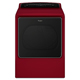 Whirlpool Cabrio� WED8500DR Electric 8.8 cu. ft. Red High Efficiency Top Load Steam Dryer - WED8500DR - IN STOCK