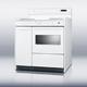 Summit WEM430KW 36 in. White Freestanding Coil Range - WEM430KW - IN STOCK