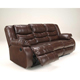 Ashley Signature Design Linebacker Espresso Durablend Reclining Sofa - 9520188 - IN STOCK