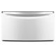 Whirlpool XHPC155XW 15.5 in. White Premium Laundry Pedestal - XHPC155XW - IN STOCK