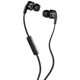 Skull Candy Smokin Buds 2 Earbud Headphones with Mic (Black) - S2PGFY003 - IN STOCK