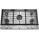 Kitchen Aid KCGS556ESS 36 in. Stainless 5 Burner Gas Cooktop - KCGS556ESS - IN STOCK