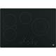 G.E. JP5030DJBB 30 in. Black 4 Burner Electric Cooktop - JP5030DJBB - IN STOCK