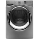 Whirlpool Duet WFW95HEDC 4.5 Cu. Ft. Chrome Shadow Front Load Steam Washer - WFW95HEDC - IN STOCK