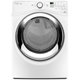 Whirlpool Duet WED87HEDW Electric 7.4 Cu. Ft. White Front Load Steam Dryer - WED87HEDW - IN STOCK