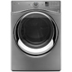 Whirlpool Duet WED95HEDC Electric 7.4 Cu. Ft. Chrome Shadow Front Load Steam Dryer - WED95HEDC - IN STOCK