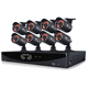 Night Owl 8 Channel Video Security System with 8 x 650 TVL Bullet Cameras  - F6-81-8624N / F6818624N - IN STOCK