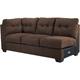 Ashley Signature Design Maier Walnut Contemporary LAF Full Sleeper Sofa - 4520110 - IN STOCK