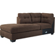 Ashley Signature Design Maier Walnut Contemporary LAF Corner Chaise - 4520116 - IN STOCK