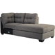 Ashley Signature Design Maier Charcoal Contemporary RAF Corner Chaise - 4520017 - IN STOCK