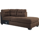 Ashley Signature Design Maier Walnut Contemporary RAF Corner Chaise - 4520117 - IN STOCK