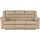 Ashley Signature Design 8320188 Brolayne Beige Contemporary DuraBlend Reclining Sofa - 8320188 / 8320188 - IN STOCK