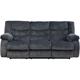 Ashley Signature Design 9200188 Garek Blue Contemporary Double Reclining Sofa - 9200188 / 9200188 - IN STOCK