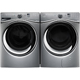 Whirlpool Chrome Shadow Duet Front Load Washer & Dryer Pair - WFW95CSDPR - IN STOCK
