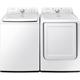 Samsung White Top Load Washer & Dryer Pair - WA400PR - IN STOCK
