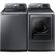 Samsung Platinum HE Top Load Washer & Dryer Pair - WA52J8700PPR - IN STOCK