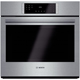 Bosch 800 Series HBL8451UC 30 in. Stainless Convection Single Wall Oven - HBL8451UC - IN STOCK